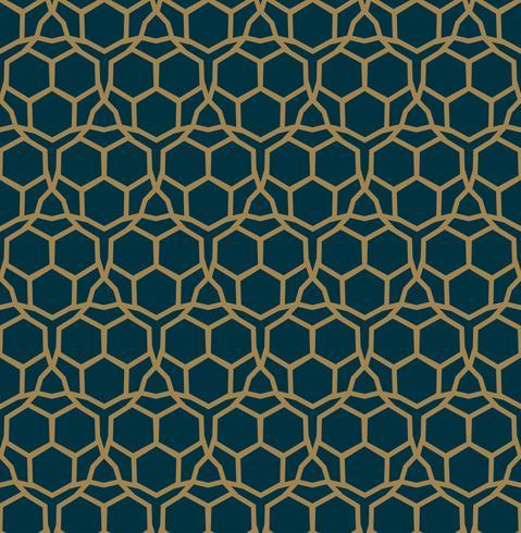Modello geometrico astratto con linee, rombi Un vect senza soluzione di continuità vettore