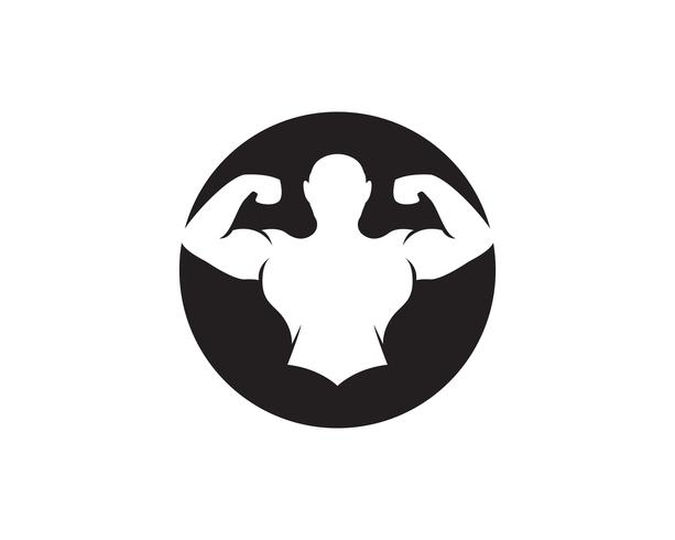 Oggetto di vettore e icone per Sport etichetta, palestra distintivo, Fitness Logo Design
