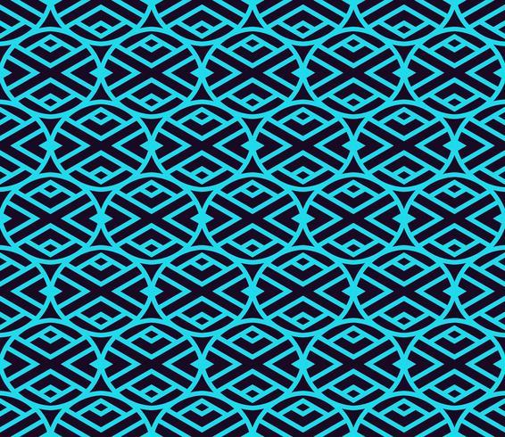 Vector seamless. Moderna trama lineare elegante. Ripetendo le piastrelle geometriche con elementi lineari.