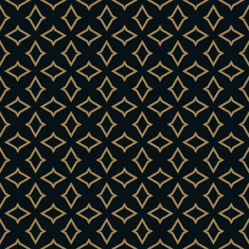 illustrazione di vettore del modello di linee senza cuciture astratto dell'ornamento