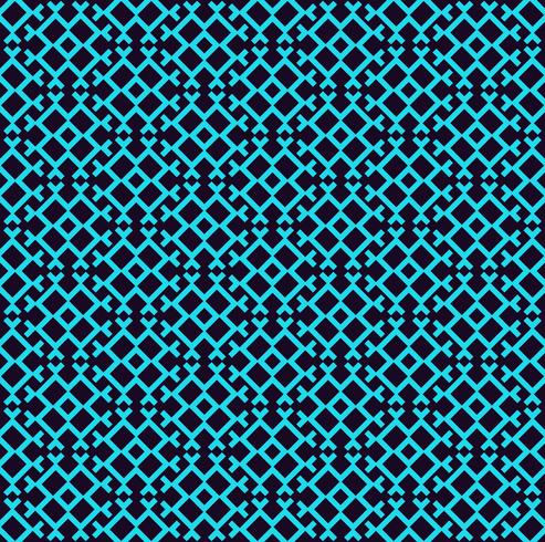 Modello lineare senza soluzione di continuità. Texture elegante con ripetute forme geometriche. vettore