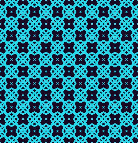 Linee geometriche senza cuciture ornamento, modello lineare con carta da parati ornamentale sottile colore blu elegante. vettore