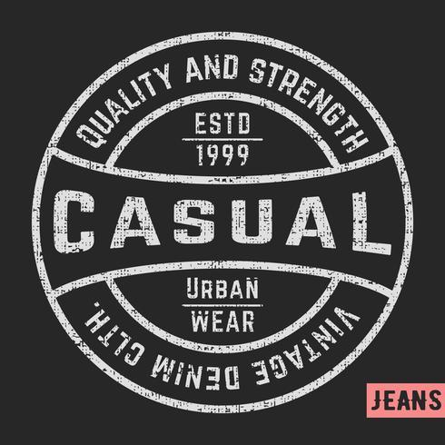 T-shirt design di stampa vettore