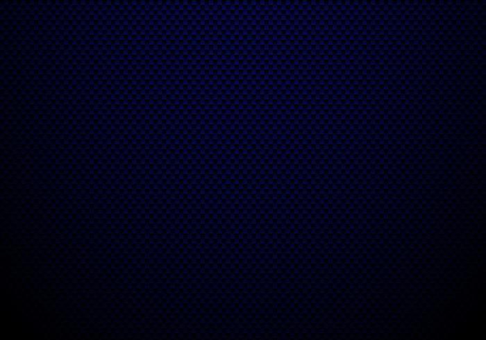 Fondo e struttura blu scuro della fibra di carbonio con illuminazione. Carta da parati materiale per l'ottimizzazione o il servizio dell'auto. vettore
