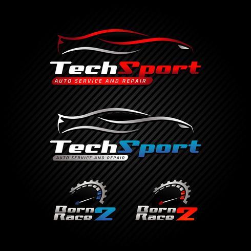 Logo automobilistico vettore