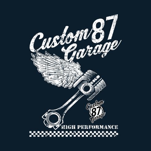 emblemi di moto d'epoca, etichette, distintivi, loghi, stampe, modelli. Stratificato, isolato su sfondo scuro Easy rider vettore