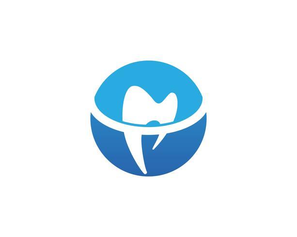 App icone di modello di logo e simboli di cure odontoiatriche app vettore