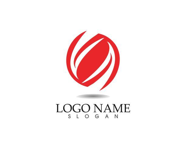 Tecnologia cerchio logo e simboli Vettore