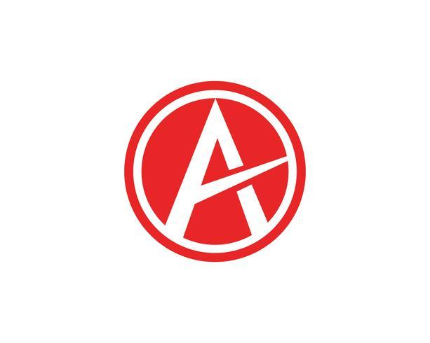 Un'icona di vettore del modello di affari di logo della lettera