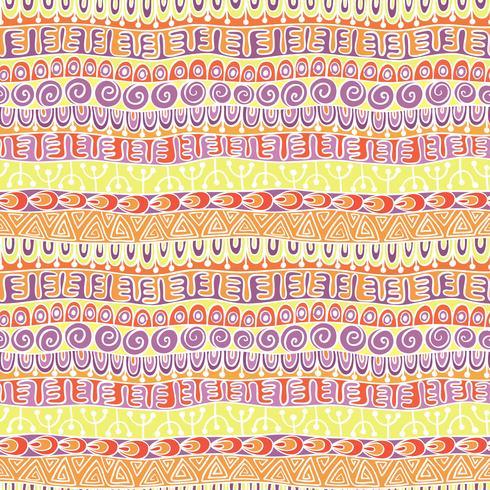 Modello festivo tribale etnico per tessile, carta da parati, scrapbooking. Modello senza cuciture variopinto geometrico astratto. Modello festivo tribale etnico per tessile, carta da parati, scrapbooking. Modello senza cuciture variopinto geometrico astra vettore