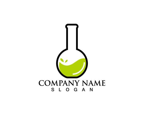 Laboratorio di logo e simboli Laboratorium vettore