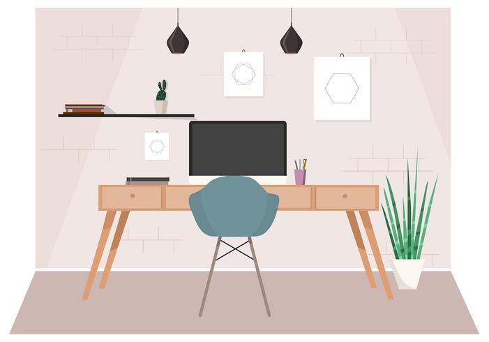 Illustrazione di soggiorno vettoriale