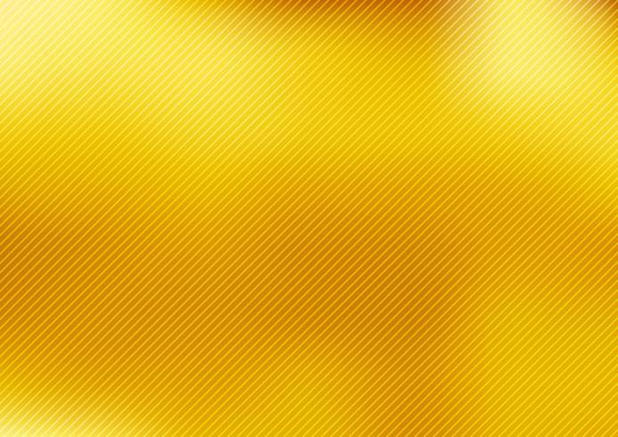 Oro astratto sfocato sfondo stile sfumato con linee diagonali testurizzati. carta da parati liscia di lusso. vettore