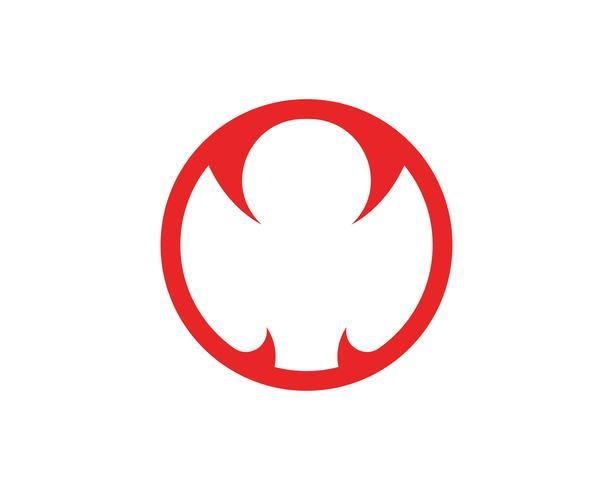 Disegno del modello logo Viper in un triangolo. Illustrazione vettoriale