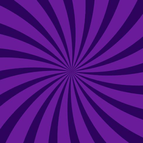 Fondo di modello viola scuro radiale vorticoso astratto vettore