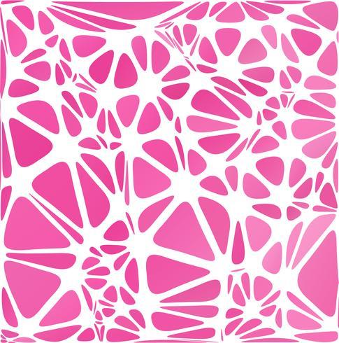 Stile moderno rosa, modelli di design creativo vettore