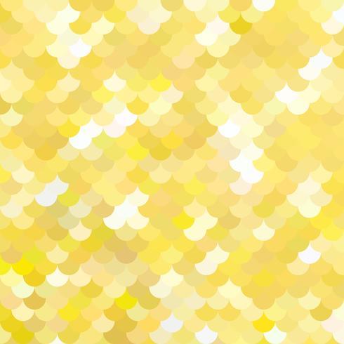 Pattern di tegole gialle, modelli di design creativo vettore