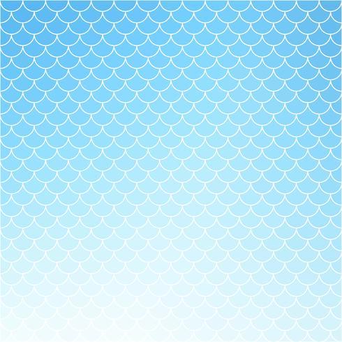 Modello di mattonelle di tetto blu, modelli di design creativo vettore