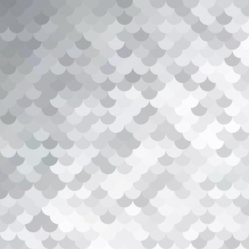 Modello di piastrelle grigio bianco tetto, modelli di design creativo vettore