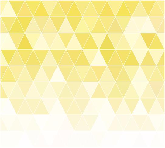 Priorità bassa del mosaico di griglia gialla, modelli di design creativo vettore