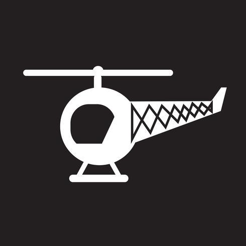 Elicottero icona simbolo segno vettore