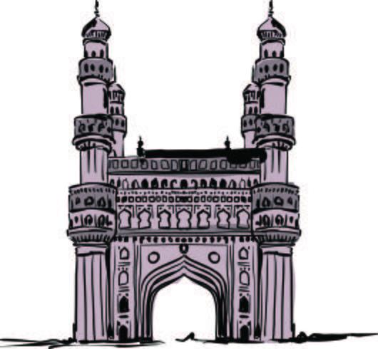 Vettore di Char Minar