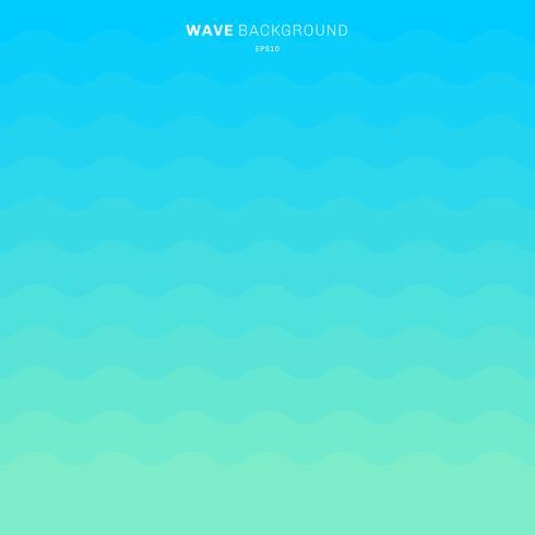 Le bande blu astratte dell'onda di colore di pendenza modellano il fondo per progettazione. vettore