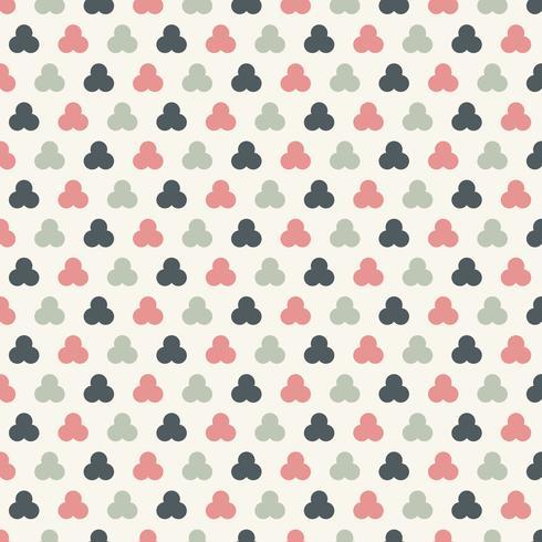I pastelli senza cuciture dei cerchi astratti colora il fondo di colore. Trafori geometrici. vettore
