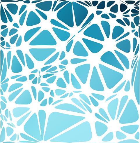 Stile moderno blu, modelli di design creativo vettore