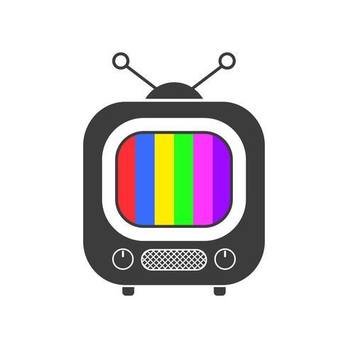 Icona Tv, Simbolo, Design, Vettoriale Pronto Per Il Tuo Design, Biglietto Di Auguri