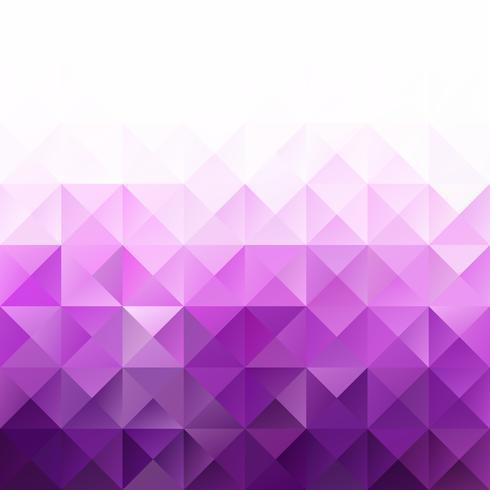 Priorità bassa del mosaico di griglia viola, modelli di design creativo vettore
