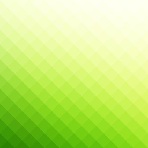 Priorità bassa del mosaico di griglia di Piazza verde, modelli di Design creativo vettore