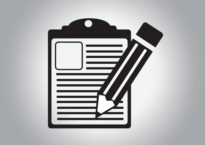 checklist icon Simbolo Segno vettore