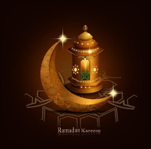 sfondo ramadan kareem vettore