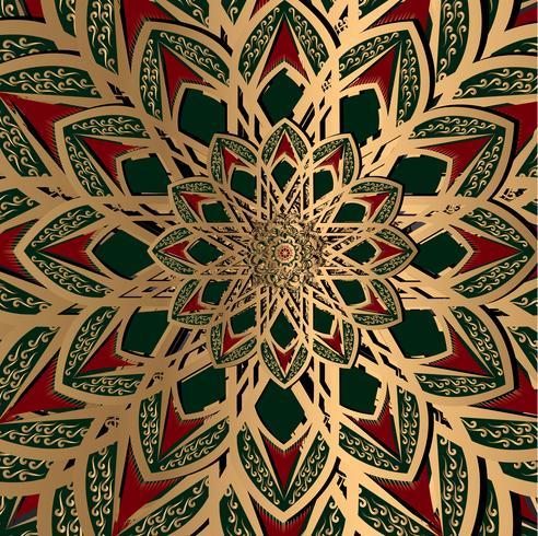 sfondo arabesco etnico turco vettore