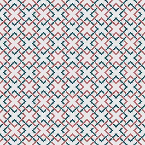 Modello geometrico astratto di semplice colore blu e sfondo di colore arancione. È possibile utilizzare per carta da imballaggio, copertina, annuncio, grafica, design texture, stampa moderna. vettore