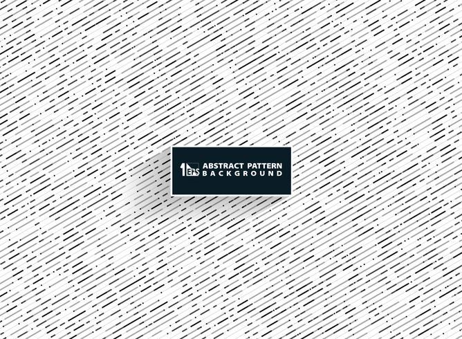 La banda nera grigia astratta di colori bianchi allinea il modello di fondo di tecnologia di decorazione. È possibile utilizzare per la progettazione del disegno del modello, copertina, annuncio, poster, relazione annuale. vettore