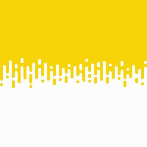 Fondo astratto della linea gialla della banda di vettore fondo ondulato. illustrazione vettoriale eps10
