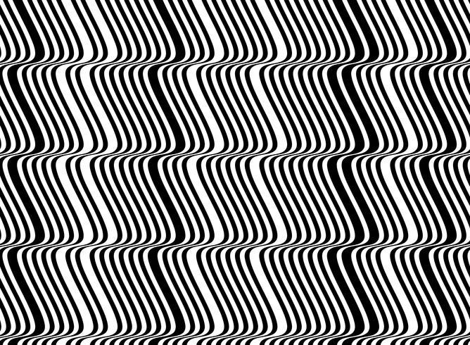 Linea di modello astratto bianco e nero sfondo disegno della maglia. illustrazione vettoriale eps10