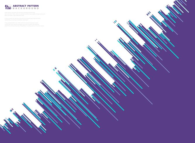 Linea porpora astratta fondo di tecnologia di progettazione del modello della banda di vettore. illustrazione vettoriale eps10