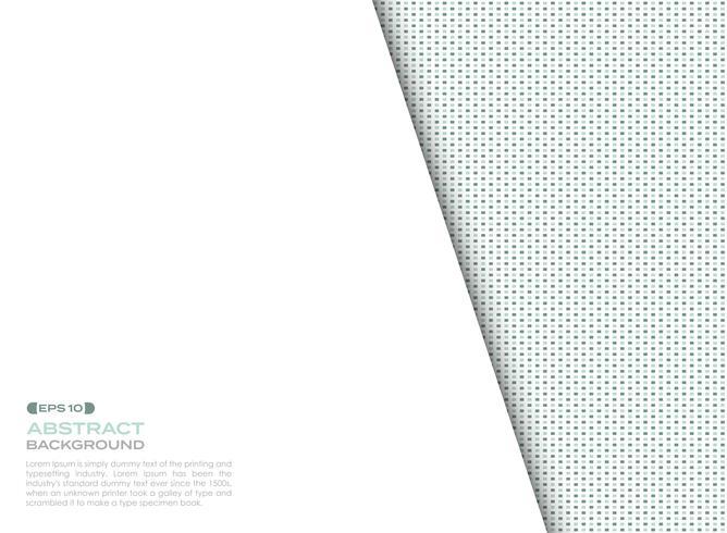 La copertura degli elementi quadrati blu e verdi digitali modella il fondo con lo spazio della copia. vettore