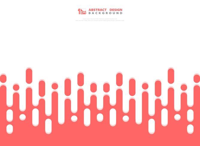 Estratto del fondo dei modelli della banda di colore rosa. illustrazione vettoriale eps10