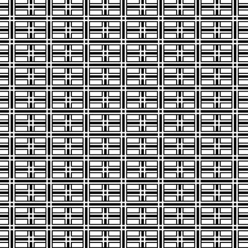 Fondo geometrico in bianco e nero astratto del modello di arte op. vettore