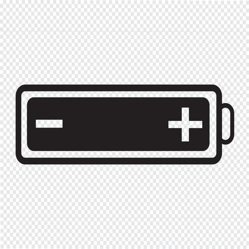 icona della batteria vettore