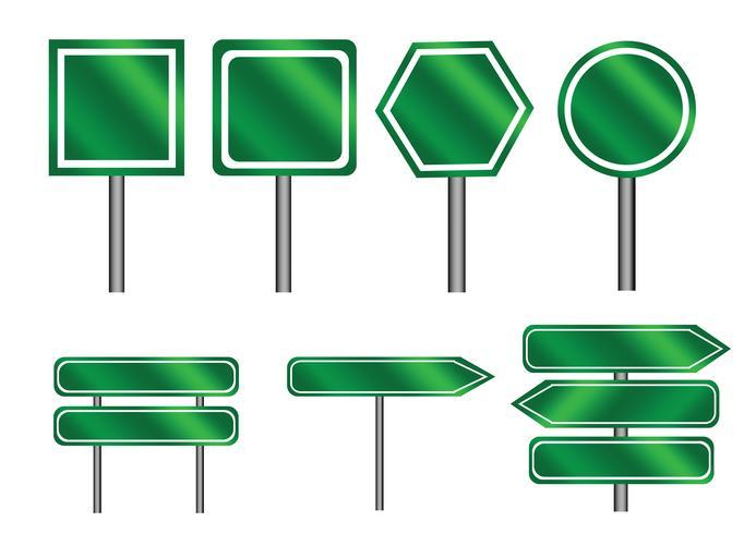 segnali di direzione Sign Sign vettore