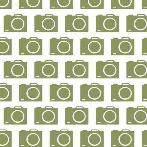 sfondo del modello di fotocamera vettore