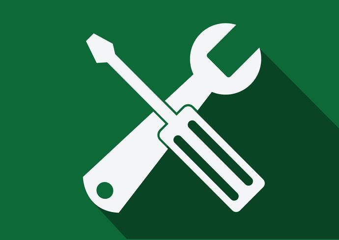 Icona strumenti Simbolo Segno vettore