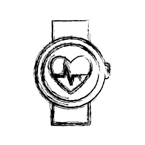 immagine dell'icona smartwatch vettore