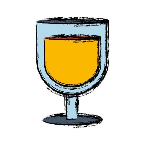 icona di bicchiere di bevanda vettore