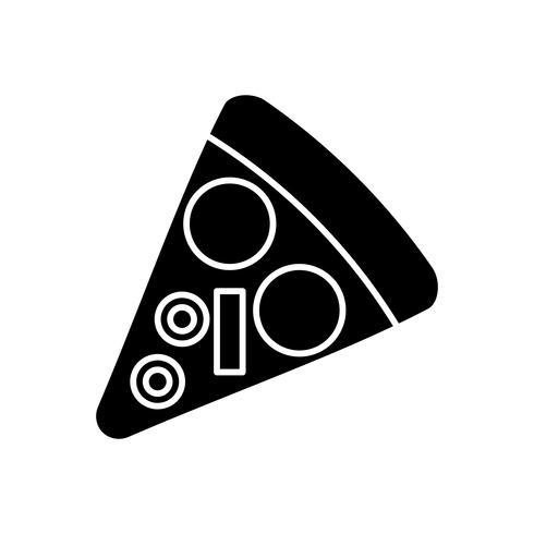 immagine dell'icona di pizza vettore